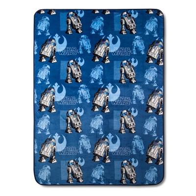 Star Wars R2-D2 Blue Blanket Sets (Full/Queen)