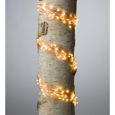 Firefly Bunch Lights, 320 Warm White LEDs on Bendable Wires - Plow & Hearth