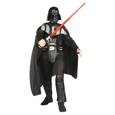 Star Wars Men's Darth Vader Deluxe Standard Costume