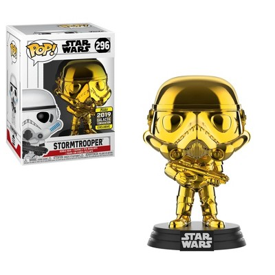 Funko POP! Star Wars: Gold Chrome Stormtrooper (Shared Exclusive)
