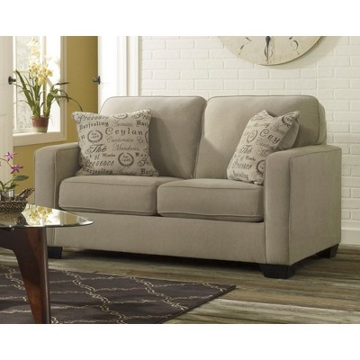 ashley alenya quartz sofa reviews clean microfiber fabric loveseat signature design by target