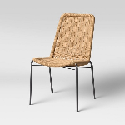 wicker stack patio accent chair project 62