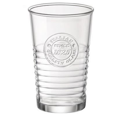 Bormioli Rocco Officina Glass 10.5oz 6pk Water Glasses