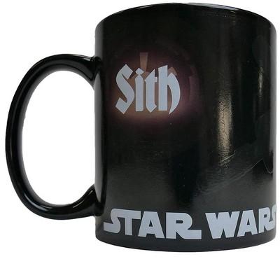 Star Wars Jedi/ Sith 20oz Heat Reveal Ceramic Coffee Mug