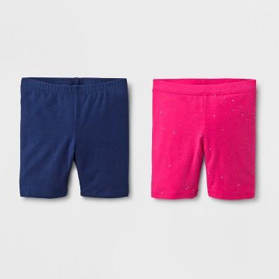 Toddler Girls' Trouser Shorts - Cat & Jack™ Navy