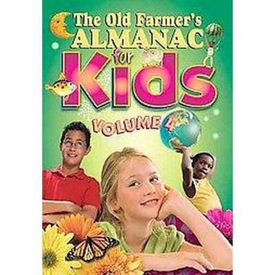 The Old Farmer's Almanac For Kids 4 Paperback Target