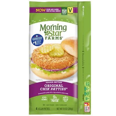Morningstar Farms Original Frozen Chik Veggie Patties ...