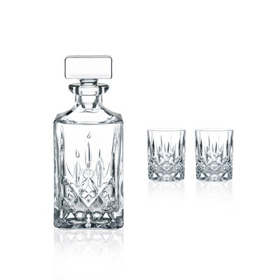 Nachtmann 3pc Whiskey Decanter Set