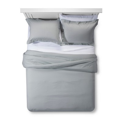 Damask Stripe Comforter Set - Fieldcrest®