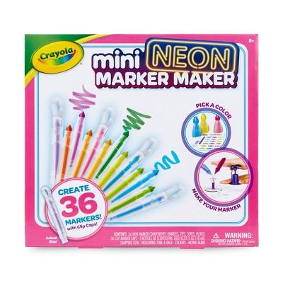 Crayola Mini NEON 42pc Marker Maker