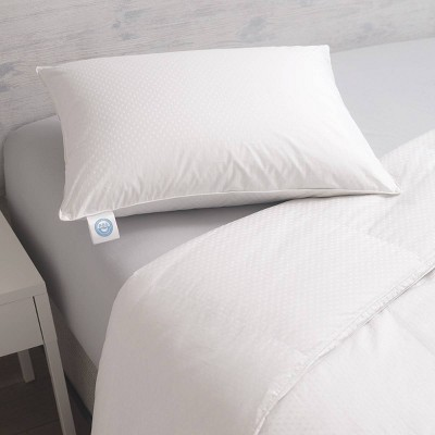responsible down standard luxury white goose down standard pillow