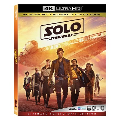 Solo: A Star Wars Story (4K/UHD + 2 Blu-Ray + Digital Code)