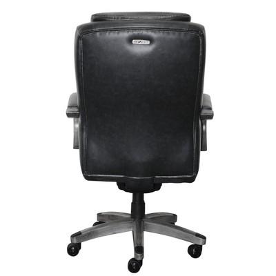 la z boy big tall executive leather office chair black children s recliner chairs australia delano bonded