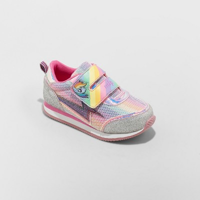 Toddler Girls' Hasbro My Little Pony Retro Jogger Sneakers - Pink