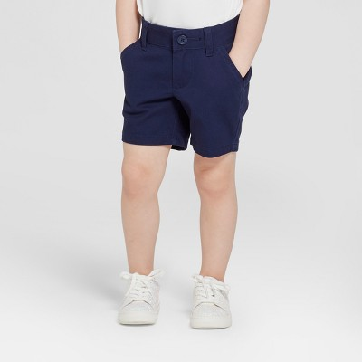 Toddler Girls' Chino Uniform Shorts - Cat & Jack™