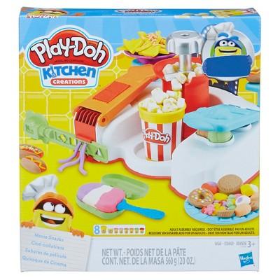 Play-Doh Kitchen Creations Movie Snacks Set