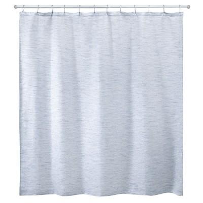 avanti dakota stripe shower curtain blue
