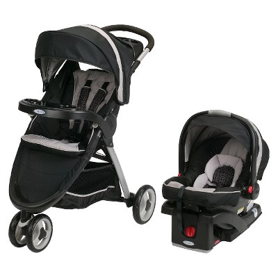 Graco® FastAction™ Fold Sport® Click Connect™ Travel System - Pierce