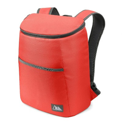 Fulton 18 Can Backpack Cooler - Peach