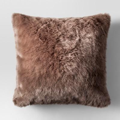 Target Faux Fur Pillow  Coffee Tables Ideas