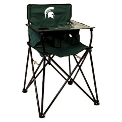 Portable High Chair Target Mattress Beds Ciao Baby Michigan State Spartans In Green About This Item