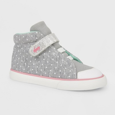 Toddler Girls' See Kai Run Basics Belmont II Dots Sneakers - Gray