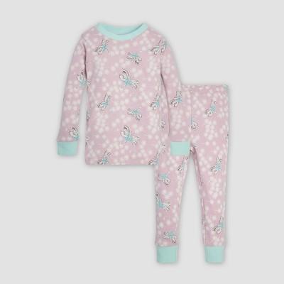 Burt's Bees Baby® Toddler Girls' Dragonfly Organic Cotton Pajama Set - Lavender