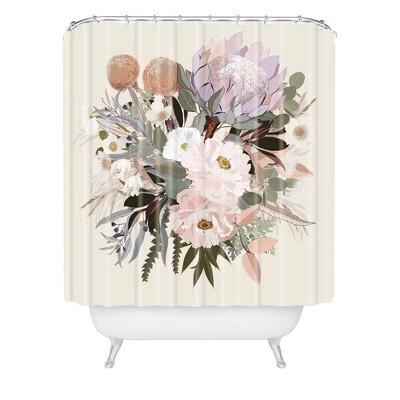 iveta abolina antonia shower curtain green deny designs