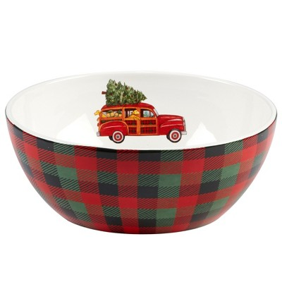 112oz Home For Christmas Ceramic Serving Bowl - Certified International