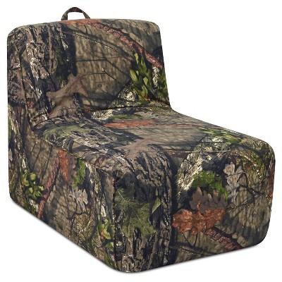 Tween Foam Lounger With Handle - Mossy Oak Country - Mossy Oak Nativ Living