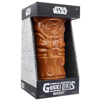 Geeki Tikis Star Wars Wicket Ewok Mug   Crafted Ceramic   Holds 14 Ounces