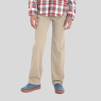 Wrangler® Boys' 5pkt Straight Fit Chino Pants - Beige