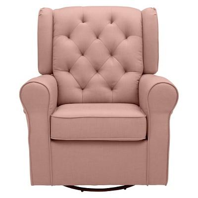 rocking chairs for children swing chair 1 year old delta emma nursery glider swivel rocker blush target