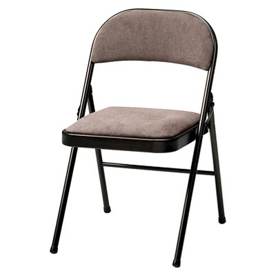 folding chair fabric swivel base repair 4 piece deluxe padded cinnabar frame and corrin about this item
