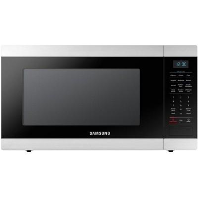 samsung 1 9 cubic foot countertop microwave oven black manufacturer refurbished