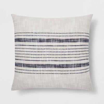 Stripe Throw Pillow  GrayBlue  Threshold  Target