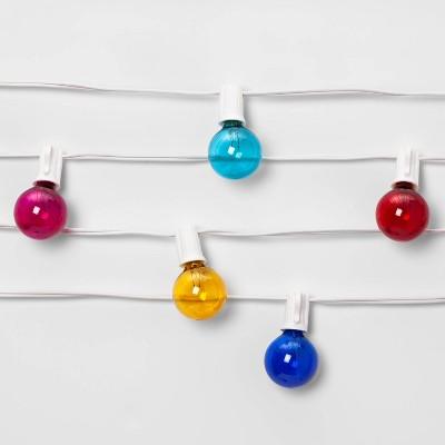 White Cord Globe Lights - Room Essentials™