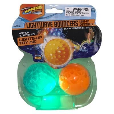 Splash Bombs® Lightwave Bouncers Light-up Skimmballs