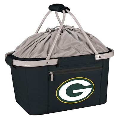 Picnic Time NFL Team Metro Basket Collapsible Tote - Black