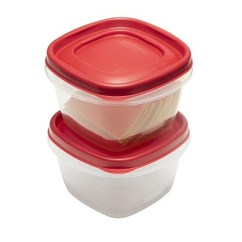 Rubbermaid Kitchen Storage Containers Wood Hoods 4pc 2 Cup Food Container With Easy Find Lid Target