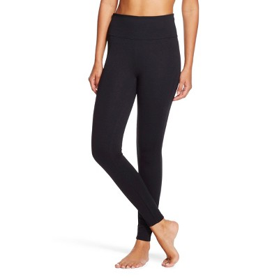 Assets® by Spanx® Women's Ponte Shaping Leggings - Black