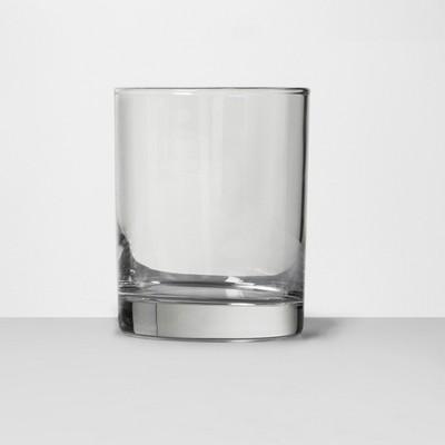 14oz short glass tumbler