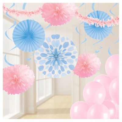 pastel pink and blue