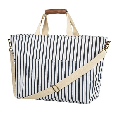 Cathy's Concepts Striped Cooler Tote