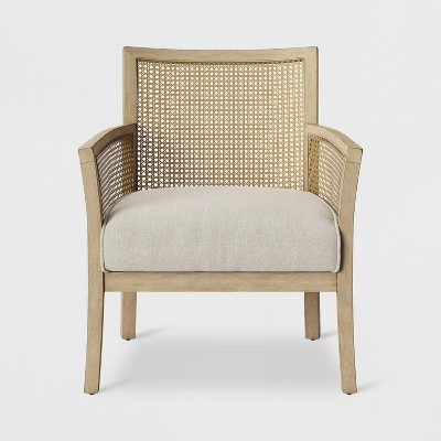 Laconia Caned Accent Chair Beige - Threshold™