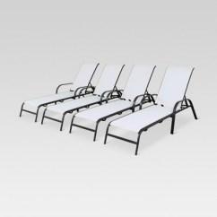Target Sling Chair Tan Office Chairs Ergonomic 4pk Stack Patio Lounge White Threshold