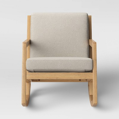 Fairglen Wood Arm Modern Rocking Chair - Project 62™