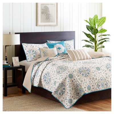 Neda Quilted Coverlet Set - 6pc