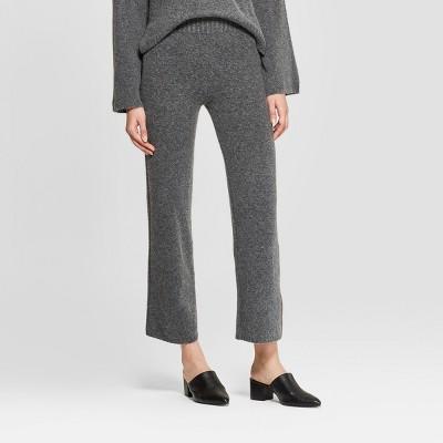 Women's Wide Leg Sweater Pants - Prologue™ Gray