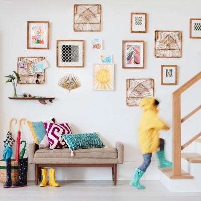 living room settee benches small closet ideas verken mid century modern bench project 62 target